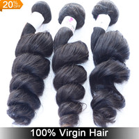 Wholesale A A Malaysian Peruvian Indian Eurasian virgin hair Weaving Bundles Natural Wave bundles soft Smooth Natural Hair Extension