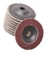 Anvil angle grinder sanding - x3x16mm QUICK CHANGE SANDING FLAP DISC GRINDING WHEEL for GRIT ANGLE GRINDER