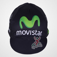 Men cycling hat - 2013 movistar Cycling cap Bicycle caps bike bicycle helmet hat new Movistar cycling hat cap cycling accessories