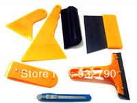 Alloy application installation - 7pcs Deluxe Car Vehicle Window Vinyl Film wrap Application installation Tools Kit set