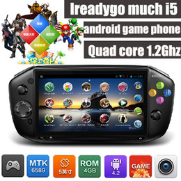online shopping 100 Original Much I5 MTK6589 Quad Core inch IPS Capacitive Screen GPS Android Smart Game Mobile Cell Phone