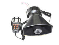 Wholesale 12V w Loud Horn Car Van Truck Sound Tone Speaker With PA System Mic Max db