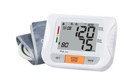 Wholesale Medical Supplies Fully Automatic Digital arm Blood Pressure Monitor Heart Beat Meter With LCD Display