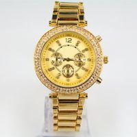 Modern modern jewelry - Top Luxury Bracelet Wristwatch Diamond Women watch Elegant clock Famous Brand High Quality Jewelry Gifts