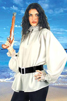 sexy halloween costumes - sexy white pirate shirt costume Halloween adult costumes young girls costume image com