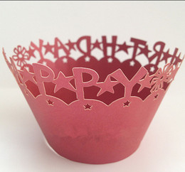 holiday lace laser hollow Cupcake wrapper, wedding party birthday decoration cupcake paper box 60pcs wholesale