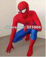 En vente costume de mascotte de spiderman Fancy Dress Taille adulte Robe