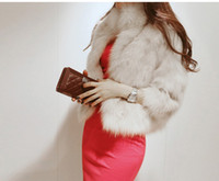 apparel outlets - Factory Outlet Top Quality Rabbit Faux Fur Coats For Women s Clothing Lady Fur Vest Fluffy Outwear Plush Scarf Winter Apparel Lining Satin s