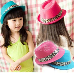 Baby Banvas Fedora Hat Baby Jazz Cap Kids Top Hat fedora summer hat baby goods