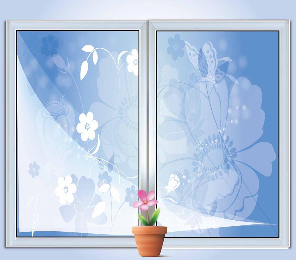 Glass Window Sliding Glass Door Window Film