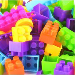 Wholesale Kids toy Large size assembling plastic building blocks child educational toys set