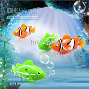 Electric fish toy automatic swimming toys electronic for Swimming fish cat toy