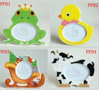 Wholesale Baby Animal photo frame Duck Fish Cake Custome Baby Photo Frame best for Christmas Birthdayt Gift inch Size L W cm