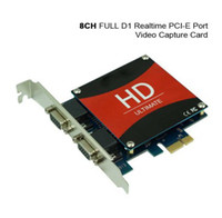 Wholesale CCTV Security CH FULL D1 Realtime PCI E Port HD Video Capture Card