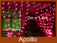 Wholesale Butterfly Led Curtain Light String m m Leds Lamp Christmas Wedding Party Holiday Decoration Flash String Ornament Fairy Light