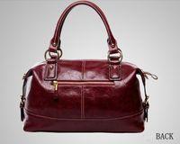 Wholesale 2013 Genuine Leather Handbag Women Leather Handbag Fashion Wax Oil Shoulder Bag Vintage Totes Women Messenger Bags