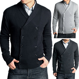 Wholesale New Men s Stylish Fashion Cotton Knit sweater Size Gift
