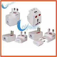 Wholesale TC300 GSM Bug Plug Adapter Ear Spy Charger Bug UK EURO Asia Dual Band Travel Charger