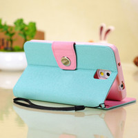Double Color Leather Case Full Cover Stand Cover Protective ...