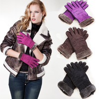 Wholesale New Women s Best Motorbike Gloves Winter Warmers Skiing Bickcle Cycling Motorcycle Waterproof Sports Heated Black Purple Gray High Quality