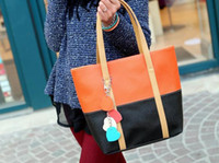 produce bags - The new female bag color matching bag produce handbag personality bag
