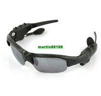 fm bluetooth sunglasses - Bluetooth FM radio Headset Sunglasses Mp3 Player GB