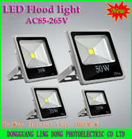 Wholesale New types Flat panel LED Flood Light W W W W RGB Warm White White led Outdoor Floodlight Waterproof V