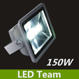 Wholesale 150W led flood light Silvery Outdoor wall washer garden yard park square projector search Industry luminaire lamp CE amp ROHS FEDEX Freeshipping