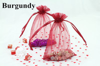 Wholesale 2015 New Wedding Style Organza Candy Bags quot x6 quot cm x cm Organza Sheer Pouch Fit Wedding Gift Jewelry Packaging DIY Idea
