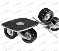 Wholesale LLFA3120 Skateboard pair Drift Skates Drift freeline Skate Super PU wheel Black White