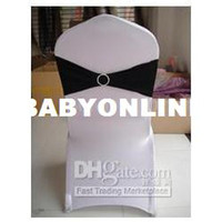 Wholesale Black Spandex bands with rhinestone spandex bands with diamond buckle