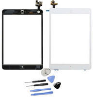 Wholesale For ipad Mini Digitizer Touch Screen Glass Original For IPad Mini touch display with IC Black White Gift repair tools amp M sticker