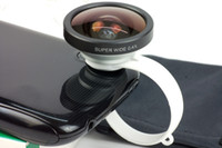 Wholesale Hot X Super Wide Angle Photo Lens for iPhone4 S Most Cellphone Tablet PC good quality factory price JY15