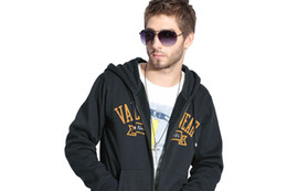 Wholesale VaLS men s fashion cotton hoodie Dark Blue