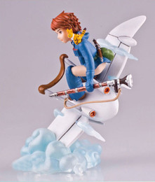 Wholesale Hayao Miyazaki Nausicaa of the Valley of the Wind PVC Action Figure Toy Size cm