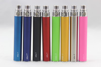Electronic Cigarette Battery Red EGO-T Battery Colorful electronic Cigarette batteries 650mah 900mah 1100mah optional e cig battery for MT3 Protank ViVI tank GS H2 ect Mix