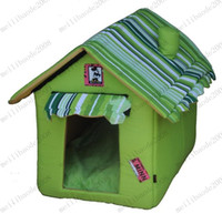 Wholesale folding washable Mickey kennel dog house dog house Teddy pet nest pet supplies MYY6905