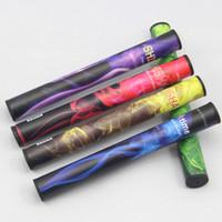 Electronic Cigarette Disposable E Cig Red Colorful Disposable Electronic Cigarette E Shisha Pen Health 15 Fruit flavor hookah vapor 5 colors