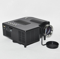 Wholesale Black Mini LED Projector Home Theater With HDMI VGA SD Card AV IN USB Input