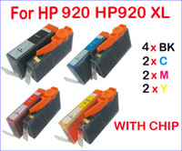 Wholesale 10 ink cartridge with chip for HP HP920 XL for HP Officejet HP Officejet A HP Officejet E709c HP Officejet