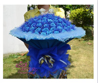 Wholesale Hot New Simulation roses Christmas Creative gift qjq86