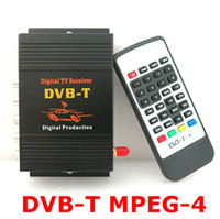 car tv tuner TV DIY Car TV Tuner DVB-T (MPEG-4) Digital TV Receiver Box Work for Car DVD and Monitor 10pcs lot