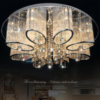 Wholesale Stock In US New Modern Chandelier Living Room Ceiling Light Lamp Fixture Crystal Lighting
