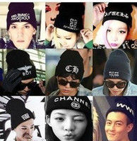 Caps Harajuku Boy Korean version knitting wool Hat Trends ca...