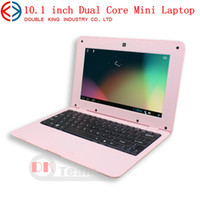 Wholesale Notebook inch Dual Core Mini Laptop Android VIA Cortex A9 GHZ laptops HDMI WIFI MB GB Mini Netbook