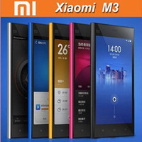 Wholesale Newest Original XIAOMI M3 Android quot Capacitive wifi Unlocked NFC Mobile phone GB RAM MP xiaomi mi3