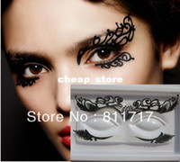 Wholesale Fashion Paper Cutting Eye Stickers Eyeliner Stage Art Party Makeup