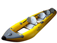 Wholesale 4 Person Inflatable Canoeing Drift Canoe Kayaks Fish Boat Kayaker Pc Boat PC Air Pumps Oars Seats