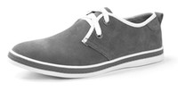 Wholesale 2013 New Men Skate Board Shoes Canvas Shoes Casual Shoes Point Shoes Solid Grey Color Slip Resistence