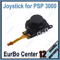 Wholesale 100pcs a Black D Analog Joystick for PSP ESP005